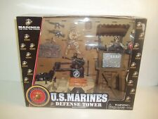 U.S. Marines Defense Tower SEMPER FI toy USMC officially NEW in box Excite