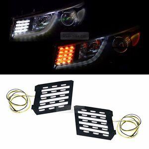 Head Lamp 2Way Turn Signal DRL LED Module With TPC for KIA 15-18 Sedana Carnival