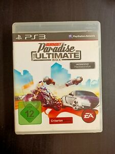 BURNOUT PARADISE THE ULTIMATE BOX - SONY PS3 PLAY STATION 3 BOXED
