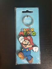 BRAND NEW Official Super Mario Bros MARIO Character Keyring Keychain 2017
