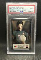 2004 UK Traditons Cristiano Ronaldo PSA 9 MINT Football World Stars Rookie RARE