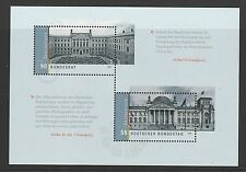 Germany 2009 Bundestag Reichstag Building mini sheet SG MS3621 MNH