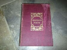 VINTAGE TENNYSO'NS POEMS POETICAL WORKS OF ALFRED LORD TENNYSON 1900 CROWELL