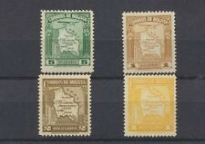 Bolivia 1935 MAPS Mint lot 4 different $6.25 Scott Retail Value 231,232,C47,C50