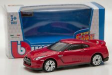 Nissan GT-R 2009 red, Bburago 18-30207, scale 1:43