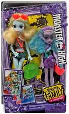 Mattel-MONSTER HIGH MONSTER familia 2 Pack-Lagoona Blue-Nuevo