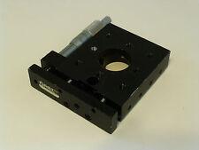 "Oriel / Newport 16152 Precision Linear Translation Stage, Micrometer, 1"" Range"