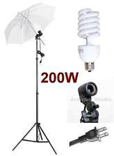 Photo Studio Video White Umbrella Lite Flash Kit