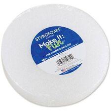 "Floracraft Styrofoam Disc 5-7/8"" x 1-3/16"" - 121039"