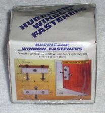 Hurricane Window & Door Shutter Fastener Kit for Home, Garage Business, Panel
