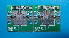 PCB for M/A COM Quadratic Flatpack Surface Mount Amplifier in AB SMT-88, Qty.2