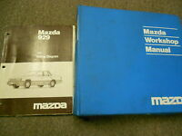 1991 Mazda 929 Service Repair Shop Workshop Manual Set W Wiring Diagram EWD