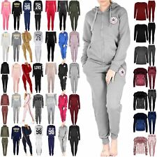 Womens Newyork All Stars Loungewear Ladies Front Pockets Hoodie Zipper Tracksuit