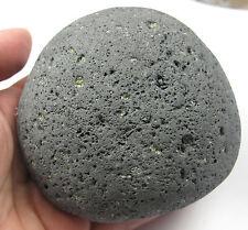 HUGE Lava Basalt Kali Goddess Perdoit Citrine Pleiadian Light Stone Crystal 3