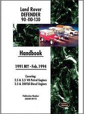 Manuale di istruzioni/Owners Manual Land Rover Defender 90/110/130 1991 - 02/1994