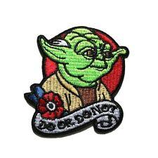 1 Écusson Brodé Thermocollant NEUF ( Patch ) - Star wars  Maître Yoda Jedi