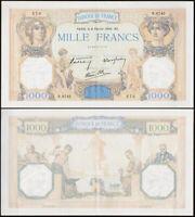 1000 FRANCS 1940 FRANCE - Cérès et Mercure - P90c (N.8742 273)