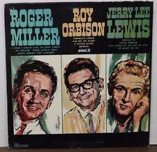 Roger Miller Roy Orbison Jerry Lee Lewis 33RPM PC-3027  112016LLE