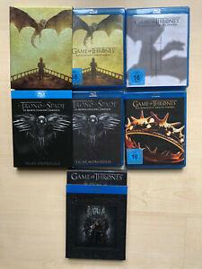 Game of Thrones GOT Staffeln 1-5 Bluray