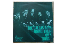 THE DALLAS BOYS * DOING THEIR OWN THING! * SIGNED VINYL LP S.L.M.010 PLAYS GREAT