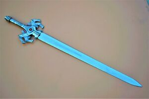 He-Man sword Movie Replica Power sword Stainless Steel Master Sword with Leather