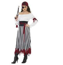 Adult Pirate Lady Fancy Dress Party Costume