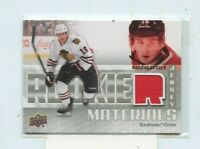 MARCUS KRUGER 2011-12 Upper Deck Rookie Materials Jersey Relic #RM-MK