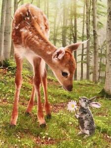 """""""Thank You For Being So Kind"""" AVANTI Deer and Rabbit THANK YOU CARD"""