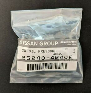 GENUINE OEM Engine Oil Pressure Switch Assy for Nissan Infiniti (25240-4M40E)