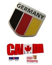 Aluminum Car Truck Germany Germ Flag Emblem Badge Decal Decor Sticker