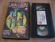 LAVA LAVA ! insanity for connoisseurs VHS FEDERICO VITALI GUANO