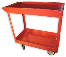 Olympia 600 lb. Capacity 2-Shelf Steel Cart