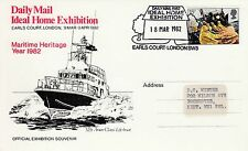 (40766) GB Postcard Cover Ideal Home Exhibition Earls Court 18 May 1982
