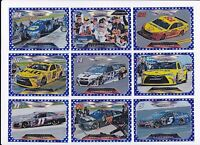 2016 Panini BLUE FLAG PARALLEL (#/99!) #59 Kyle Busch's Car BV$7.50! #14/99!