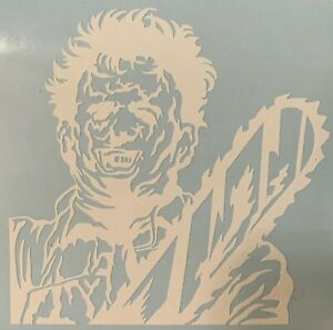 Texas Chainsaw Massacre Inspired Vinyl Decal