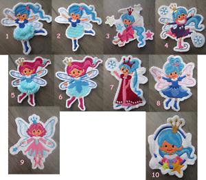 Fee Fairy Prinzessin Princess Bügel Applikation Flicken Patch Aufbügler Aufnäher