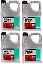 Set 4x 4L Motorex Motoröl Power Synt 4T 10W/50 4L Öl MotorradÖl