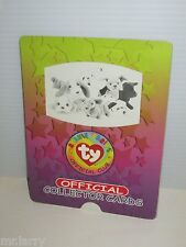 TY BEANIE BABIES OFFICIAL TRADING CARD JUMBO WINDOW SLIDER CARDS DEAL/6