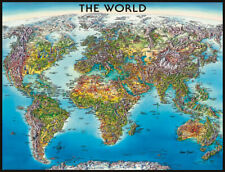 World Map Puzzle (2000 pieces)