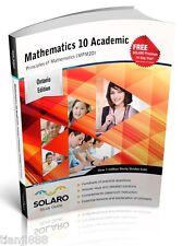 SOLARO Study Guide - Ontario Math 10, Academic, Principles of Math (MPM2D)