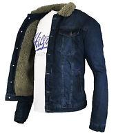 Rock Creek Jeans jacke mit Tedyfell Winter Jacke - M-L-XL-XXL-XXXL  RC-2041 Wow