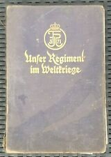 Regimentsgeschichte 1.WK Kriegsgeschichte d. 3. Thüring. Infanterie-Regiments 71