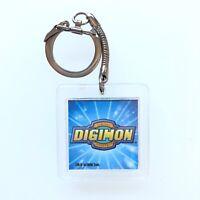 Vintage Digimon Lenticular Keychain - 2000