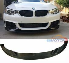 P Carbon Fiber Front Lip Spoiler For BMW 4 Series F32 M Sport 2D 4D 14UP B361