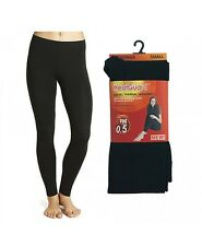 Ladies Heatguard Thermal Leggings 140 Denier The Style - Sk134 Black Small Standard