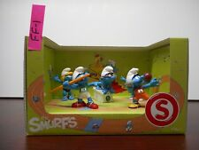 NEW IN BOX!! THE SMURFS SCHLEICH 41310 OLYMPIA SMURF SPORTY SMURF 5 FIGURES FF1
