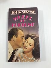 VHS Wheel of Fortune: John Wayne Frances Dee Ward Bond Minerva Urecal Tim Ryan