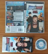 JUEGO PSP WW SMACKDOWN VS RAW 2008, THQ PLAYSTATION PORTABLE