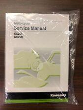 Kawasaki Service Manual-Fits 2017 & 2018 KX™250F & 2019 KX™250 -Genuine Kawasaki