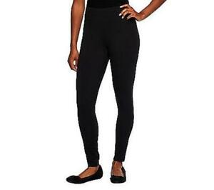 Women with Control Tummy Control Leggings No Side Seam Chocolate M NEW A366538